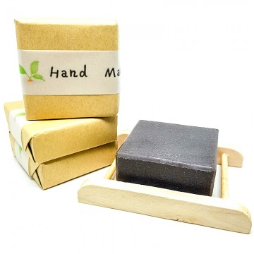 Handmade Shou Wu Natural Hair Soap Bar