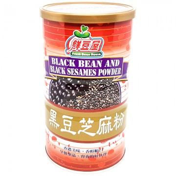 Fresh Bean House Black Bean And Black Sesame Powder