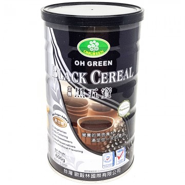 Oh Green Black Cereal